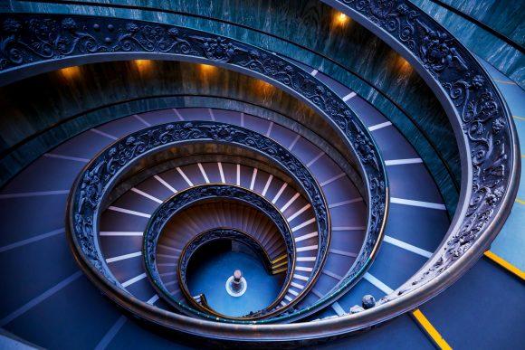 Vatikanische Treppe